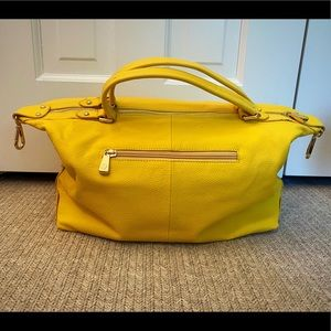Yellow Ora Delphine Purse